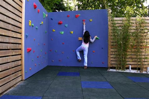 backyard climbing wall 5 ways to get your kids excited about the backyard swings