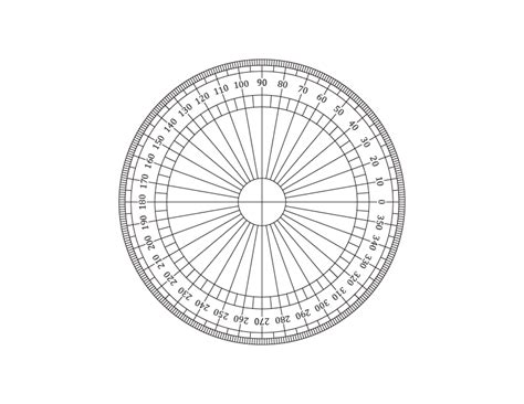 circular protractor template free printable onlinehalf circle protractor template