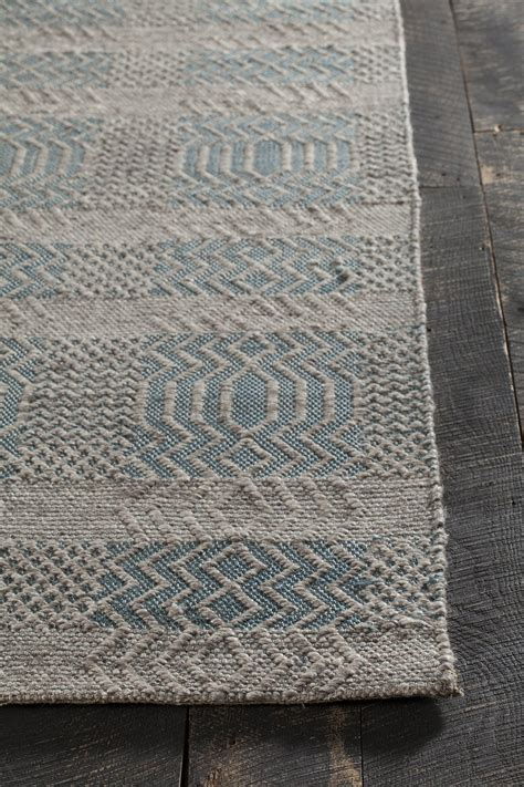 Area Rugs In Blue Salona Collection Woven Area Rug In Blue Design By Chan Burke Decor