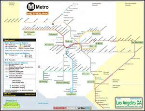La Metro System Map by Pics Photos Los Angeles Metro Light Rail