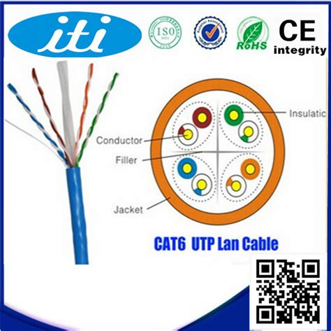 Belden Usa Cat6 Original 1 Roll 305m new pvc 250mhz 0 5 mm cat 6 utp cable 305m per roll cat 6 utp cable buy 0 5mm cat 6 utp cable