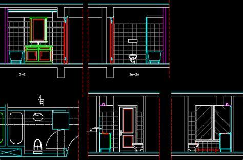 bathroom dwg section  autocad designs cad