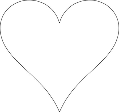 printable red heart shapes 5 free heart shaped printable templates for your craft