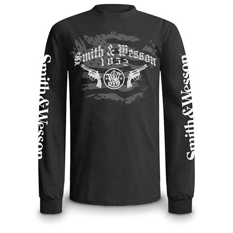 smith wesson sleeved t shirt 578856 t shirts at