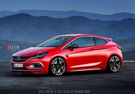 opel astra gtc 2015 opel astra k gtc 2016 by shahin project by tuninger on