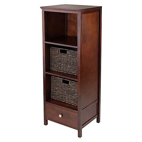 buy winsome trading brooke jelly cabinet with drawer and 2