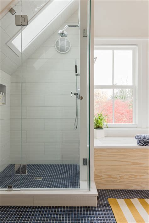Attic Bathroom Ideas by Efficient Use Of Your Attic 18 Sleek Attic Bathroom