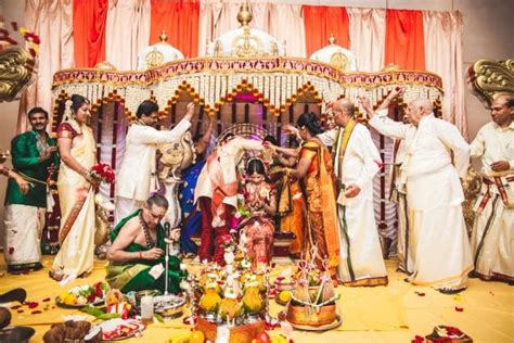 Wedding Ceremony In India by Canadian South Indian Wedding By Impressions By Annuj