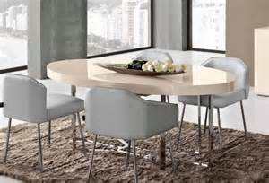 Oval Glass Dining Room Table Athum Modern Oval Dining Table With Matt Gloss Laquered