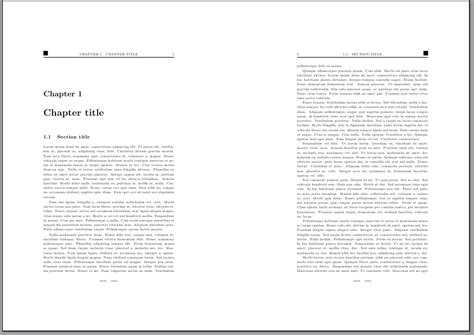 latex book layout exle tables as header and footer tex latex stack exchange