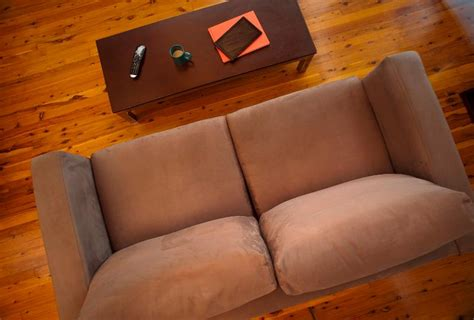 sofa slides on hardwood floor free image of upholstered and coffee table