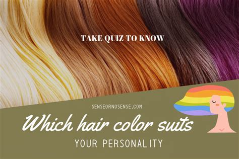 which hair color best suits your personality blonde which hair color best suits your personality