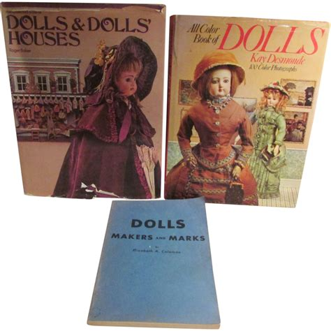 reference doll three bargain used doll reference books from