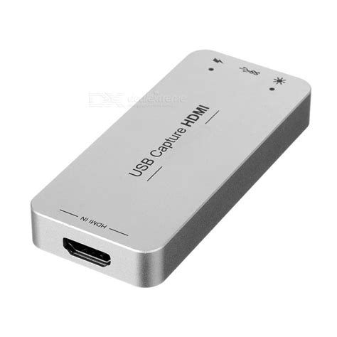 Usb Capture Hdmi usb 3 0 1080p 60fps hdmi capture dongle usb capture hdmi silver free shipping dealextreme
