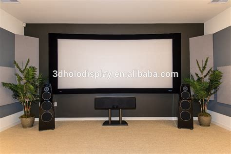 Screen Projector Fixed Frame World 84 Inci 3d Silver 16 9 curved fixed frame projector screen curved screen for home theater buy projection screen