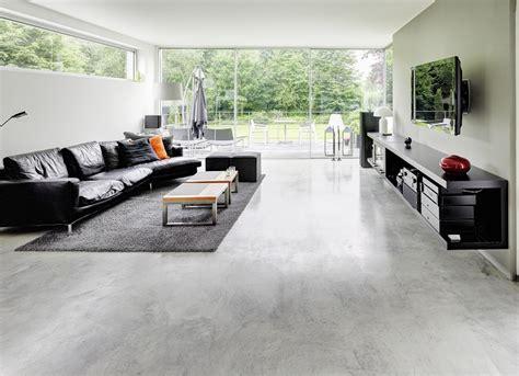 industrieboden wohnzimmer manfred lehmkuhl beton und estrichlegermeister