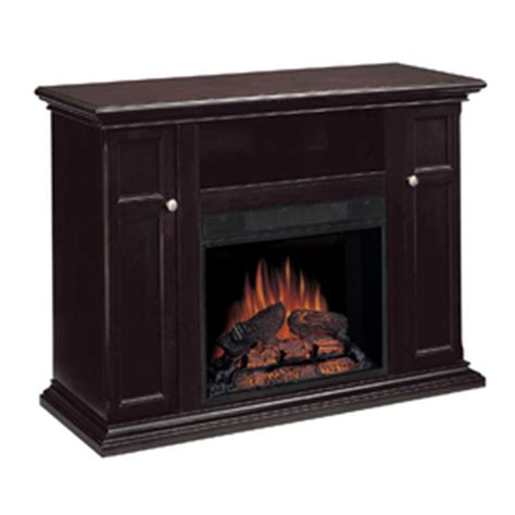 chimney free transitional mahogany electric fireplace at