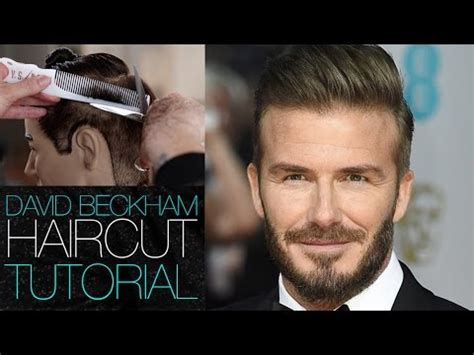 clipper cuts bt matt beck david beckham haircut tutorial mens disconnected