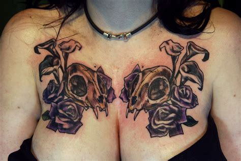 tattoo on ladies chest chest tattoo for women hot designs and ideas for the