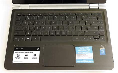 keyboard layout i3 hp pavilion x360 13 review computershopper com