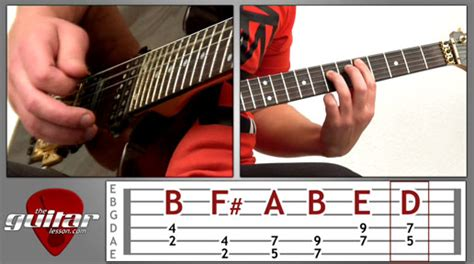 typography guitar tutorial new lesson pretty fly for a white guy