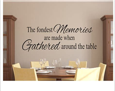 Kitchen And Dining Room Quotes Dining Room Quotes Etsy