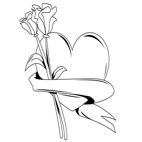 imagenes de osos con rosas y corazones dibujos kawaii de amor para colorear