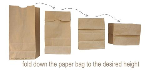 Paper Bag Fold - paper bags part 3 of 6 containers dividers white