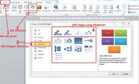 cara membuat tabel struktur organisasi di microsoft word cara buat contoh bagan struktur organisasi di microsoft
