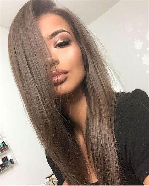 medium ash brown ombre hair color elle hairstyles best 25 ash brown hair ideas on pinterest ashy brown
