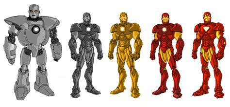 evolution iron man vo deviantart