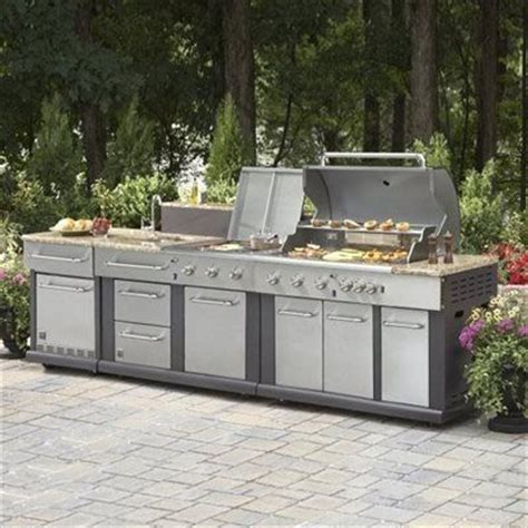 Outdoor Kitchen Grill Lowes 25 Best Ideas About Modular Outdoor Kitchens On