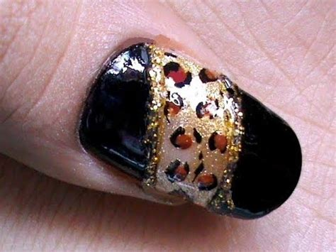 leopard nail art tutorial youtube leopard nail art tutorial youtube