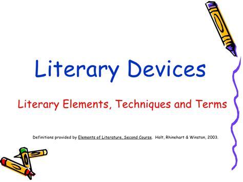 design definition literature literature ii elements of literature
