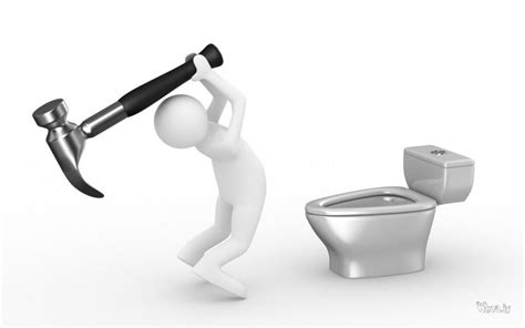 wallpaper 3d toilet funny cartoon broken toilet with white background hd fun