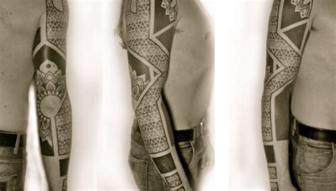 Geometric Tattoo Neo Tribal Full Sleeve | geometric tattoo neo tribal full sleeve tattoomagz
