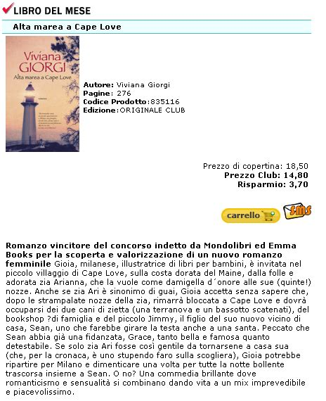 librerie euroclub le lettrici impertinenti segnalazione alta marea a cape