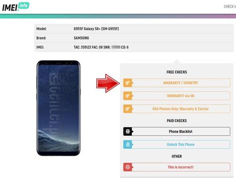 samsung warranty country check for free news imei info