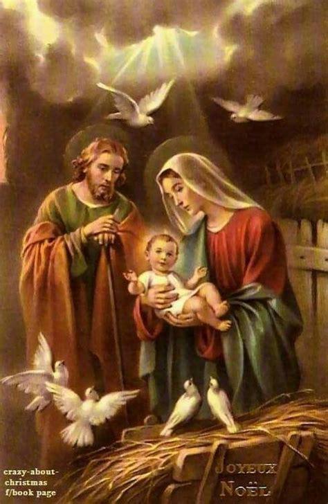 imagenes de navidad jesus maria y jose jes 250 s mar 237 a y jos 233 manualidades pinterest sagrada