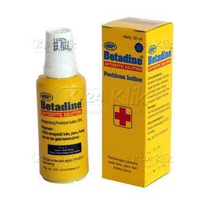 Harga Betadine jual beli betadine sol 30ml k24klik