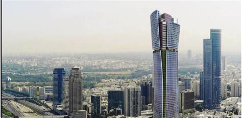 tel aviv future skyline israel s tallest buliding okayed for tel aviv news flash