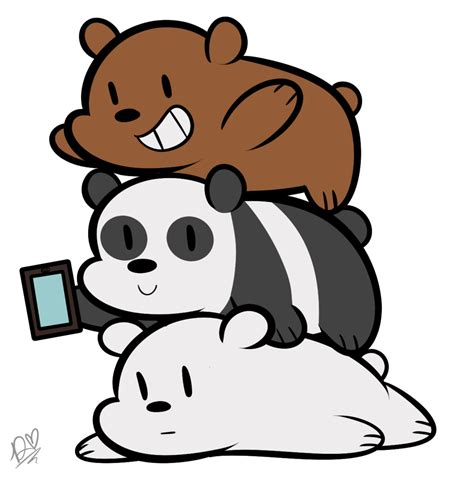 We Bare Bears Baby Iphone All Hp bros by duckydeathly on deviantart