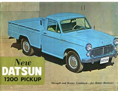 datsun pickup 1963 datsun pickup truck dealer brochure datsun