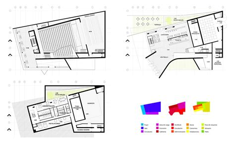 auditorium floor plan folded auditorium aqso