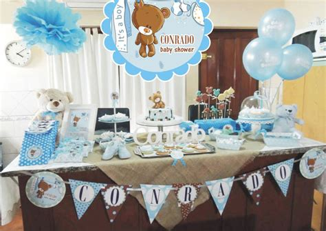 baby shower ni 209 o todo para decorar la m 225 s divertida mesa de dulces baby shower de ni 241 o decoracion para fiestas