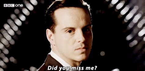 Did You Miss Methe Crisis Has 2 all the sherlock gifs sh tags did you miss me moriarty