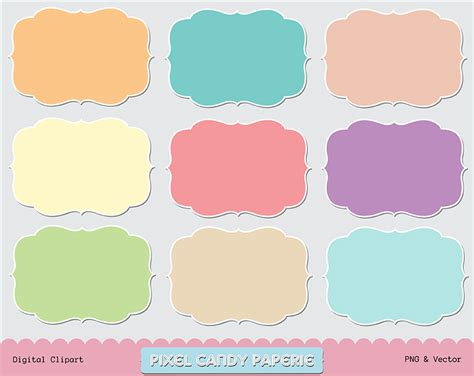 free doodle frame clip art images by pixelcandypaperie on
