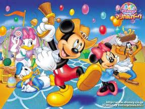 Mickey Mouse Clubhouse Wall Mural posteur mickey et donald fond ecran