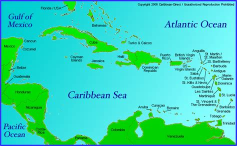central america the caribbean map notes to students sjc history department