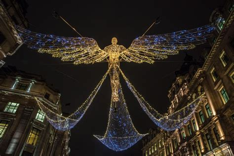 regent street s christmas 2017 lights are switched on